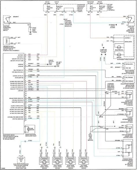 2002 chevy trailblazer stereo wiring diagram wiring