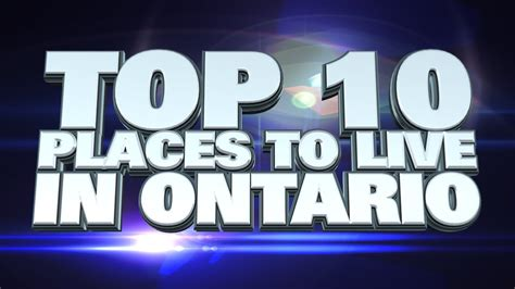 10 Worst Places To Live In America by Top Worst Places To Live In Ontario Stunning Places
