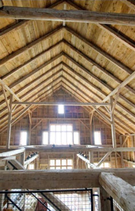Vaulted Wood Ceilings vaulted wood ceilings transforming a barn
