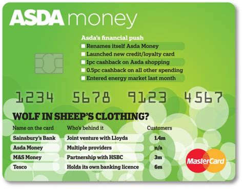 asda s card how asda m s tesco and sainsbury are choosing different