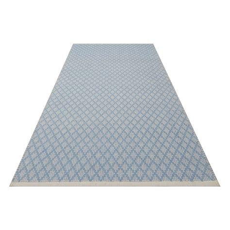 teppich vorleger teppich vorleger checky blau 70x140cm kidsdepot kaufen