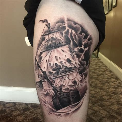 pirate ship tattoo designs 50 best pirate ship meaning and designs masters