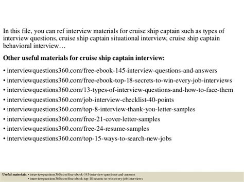 ship questions top 10 cruise ship captain interview questions and answers