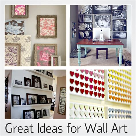 diy wall hangings dozens of great ideas for decorating great ideas for amazing wall art love chic living