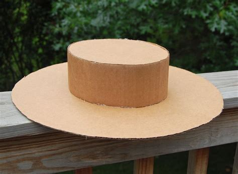 How To Make A Sun Hat Out Of Paper - cardboard hats really cool