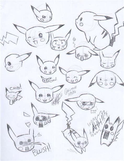how to do doodle drawings pikachu doodles 2 by sweetochii on deviantart