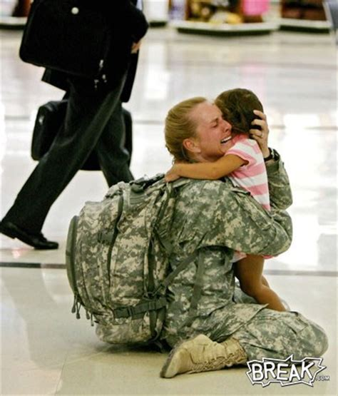 follow quot the leader quot welcome home soldier
