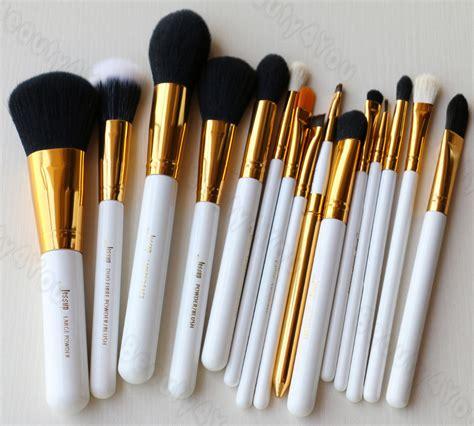 Maquiagem Brush Make Up 15 Set Black Gold jessup pro 15 pcs pinc 233 is de maquiagem em p 243 corretivo funda 231 227 o sombra delineador lip escova