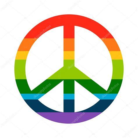 il vero significato del simbolo pace e amore consapevole di simbolo v di vero simbolo di pace arcobaleno di luminosit