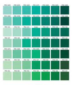 Colour Shades With Names by Green Color Names Palette Hue Blog Pantone Shades Of