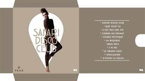 resume tmeplate yelle safari disco club cd pocket by me brave