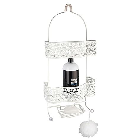 shower caddy bed bath and beyond petite flower shower caddy www bedbathandbeyond com