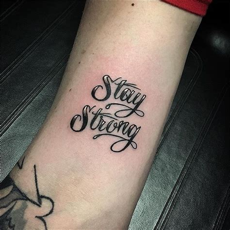 stay strong tattoo stay strong
