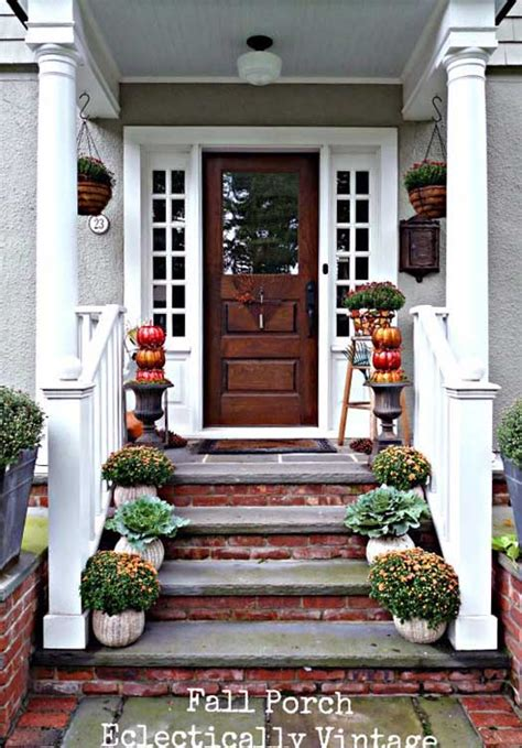 how to decorate front porch autumn decorating ideas you will enjoy