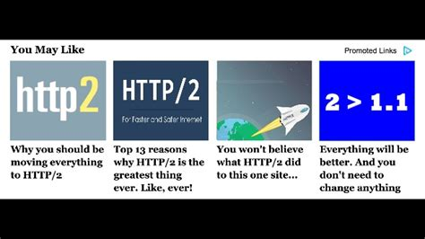 What No One Is Telling You by Http 2 What No One Is Telling You