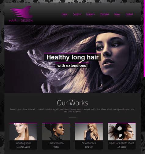 wordpress themes free hair salon 10 of the best beauty salon spa wordpress themes down