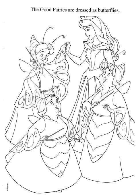disney coloring pages sleeping beauty disney coloring pages