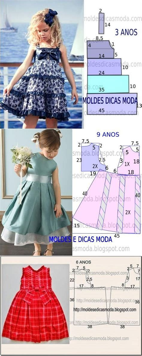 moldes vestidos nina m 225 s de 1000 ideas sobre ropa de ni 241 as en pinterest