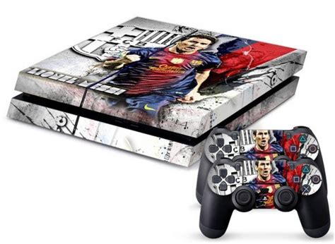 barcelona xbox one skin playstation vinyl decal skin for ps4 messi fc barcelona