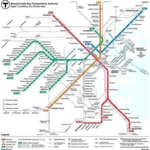 Mbta Green Line Map by Green Line Map Boston Ma Pictures To Pin On Pinterest