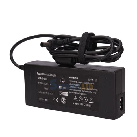 Adapter Laptop Sony Vaio 90w ac adapter charger for sony vaio pcg 81114l pcg 81115l