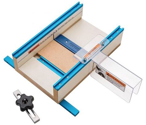 Table Saw Sled Plans by Rockler Table Saw Small Parts Sled Woodworking