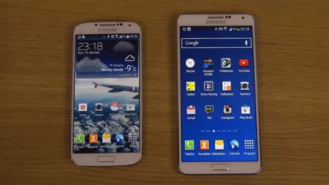 galaxy s4 vs doodle 2 samsung galaxy s4 official android 4 4 2 kitkat vs