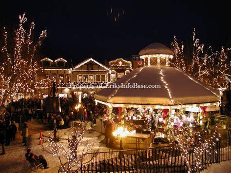 leavenworth tree lighting leavenworth tree lighting gazebo lights winter
