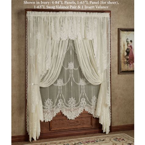 how to make a swag l how to make swag curtains with rosettes curtain