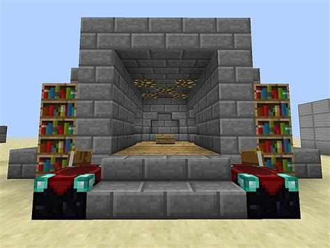 minecraft enchantment room secret enchantment room with tutorial minecraft project