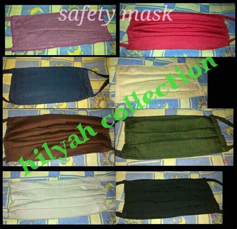 Masker Kain Hasil Home Industri 16 October 2013 Hilyah Collection
