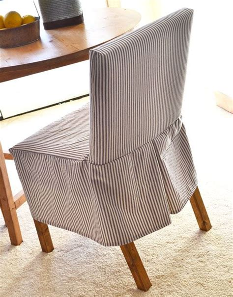 how to make chair slipcovers easy 25 best ideas about dining chair slipcovers on pinterest
