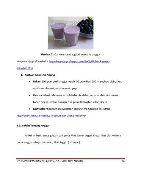 Bibit Yogurt Serbuk isi pembuatan yoghurt anggur