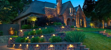 landscape led lighting nightscapes led landscape lighting design and installs