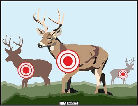 printable deer shooting targets free printable hunting practice targets 171 daily bulletin