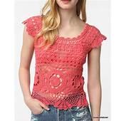 Fotos  Blusas Top Tejidos Crochet