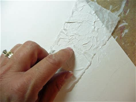 how to give acrylic paint on canvas texture that artist tissue paper textured paintings