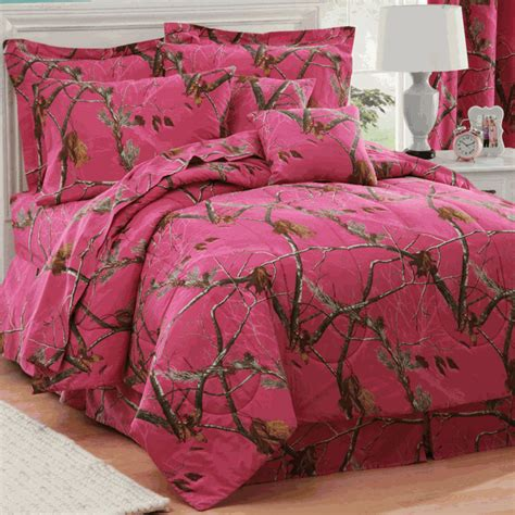 camouflage comforter sets queen size realtree ap fuchsia