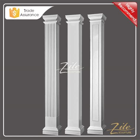decorative columns home depot random gray 36 in outdoor