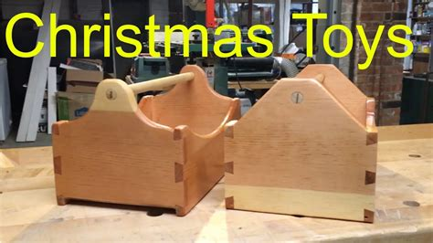 diy christmas toys wooden tool boxes  kids toy tools