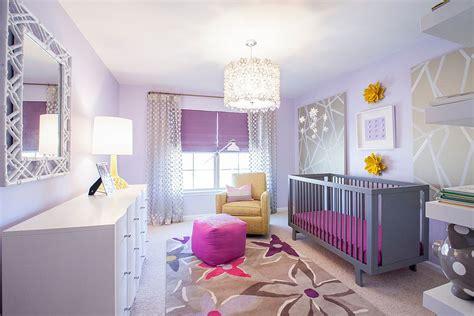 kinderzimmer in lila 20 gorgeous nurseries with purple panache