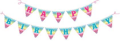 How To Make A Happy Birthday Banner Of Paper - happy birthday banners happy birthday moments
