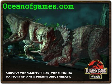 download jurassic park the game ita jurassic park the game free download ocean of games