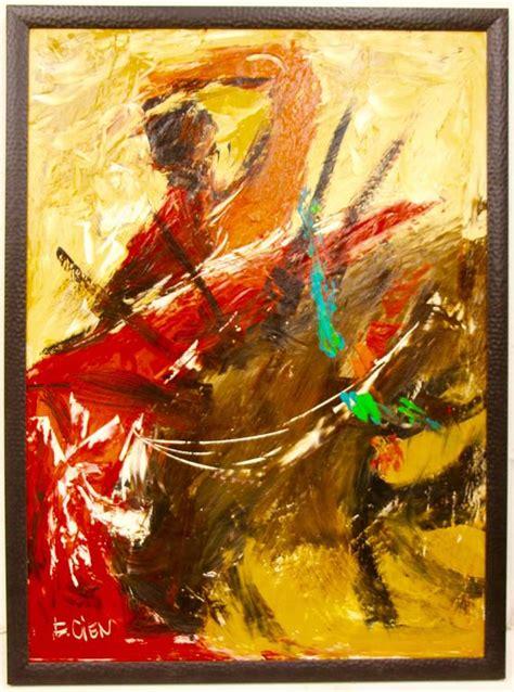 etta j benjamin cien bullfighter painting at 1stdibs