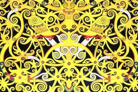lomba design batik khas ngawi dayak lover official on twitter quot motif betang sutoyo