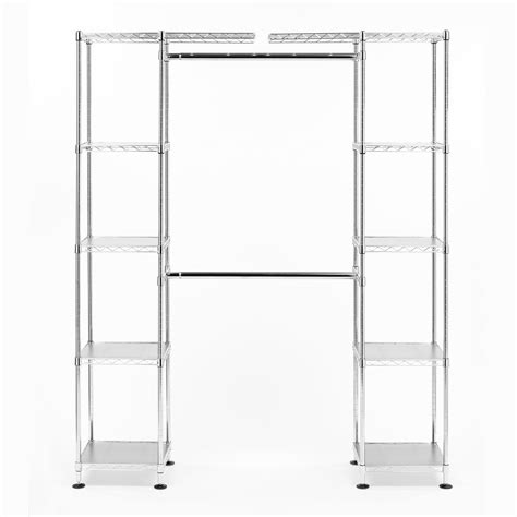 Expandable Closet Shelf by Seville Classics Expandable Closet Organizer
