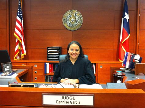 judge bench judge dennise garcia for justice pictures