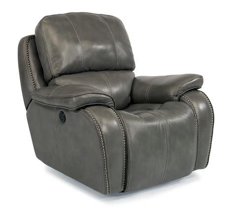Recliner With Usb Port by Top Grain Leather Match Power Gliding Recliner With