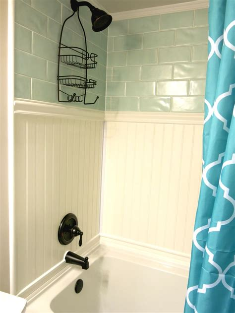 waterproof beadboard the 25 best shower surround ideas on