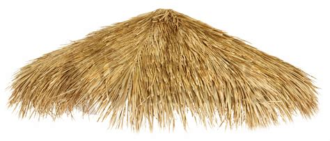 Fringe Home Decor mexican palm thatch umbrella cover 12